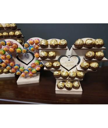 Stojak Serce Duże na Ferrero Rocher lub/i Rafaello