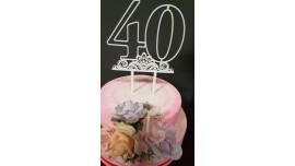 Topper 40 lat