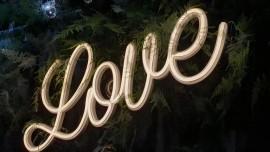 Neonowy Napis Love