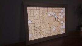 Księga gości w formie puzzli