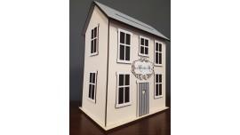 Drewniany Domek na koperty